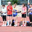 Stock Photo: Girls on start