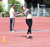 Cirit atma yarışması — Stok fotoğraf