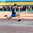 Stock Photo: Triple jump competition