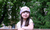 Portrait of beautiful young — Stock Photo