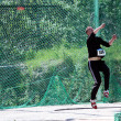 Discus throw competition — Stock Photo
