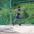 Stock Photo: Discus throw competition