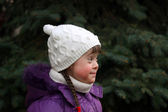 Portret van een jong meisje — Stockfoto