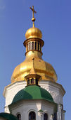 Domes of St. Sophia Cathedral in Kiev, Ukraine. — Stock Photo