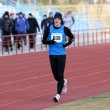 Постер, плакат: Boy at the 3 000 meters race walk