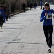 Unidentified women at the 20,000 meters race walk — Stockfoto