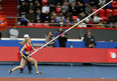 Rogowska Anna - Polish pole vaulter — Stock Photo