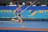 Ptacnikova Irina - czech pole vaulter — Stock Photo