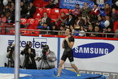 Lavillenie Renaud wins mens competition — Stock Photo