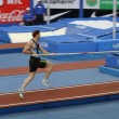 DONETSK,UKRAINE-FEB.11: Otto Björn wins second place in men's competition with the result 5.82 on Samsung Pole Vault Stars meeting on February 11, 2012 in Donetsk, Ukraine. — Stock Photo