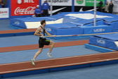 DONETSK,UKRAINE-FEB.11: Otto Björn wins second place in men's competition with the result 5.82 on Samsung Pole Vault Stars meeting on February 11, 2012 in Donetsk, Ukraine. — Stockfoto
