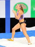 Ptacnikova Jirina - czech pole vaulter — Stock Photo
