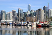 Vancouver Canada cityscape in downtown — Stock Photo