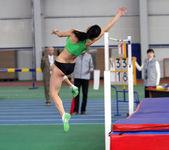 Salto de altura — Foto de Stock