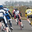 Stock Photo: Racing cyclists