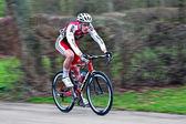 Racing cyclist — Stock Photo