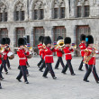 Band of the Scots Guards — Stock Photo
