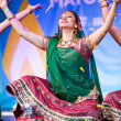 Stock Photo: Diwali festival of light dancer