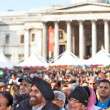 Diwali festival crowds — Stock Photo
