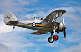 Gloster Gladiator biplane — Stock Photo