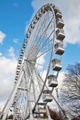 Fairground attraction - Ferris Wheel — Stock Photo