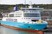 Passenger ferry at Dover port — Foto de Stock