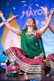 Diwali festival of light dancer — Stock Photo