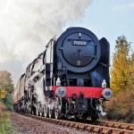 Britannia, 70000, vapor para cima — Foto Stock