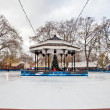 Stock Photo: Hyde Park Ice Rink