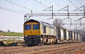 Sugar freight train — Stock Photo