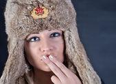 Russian Kiss — Stock Photo