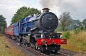 King class steam train — Stock Photo