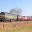 Stock Photo: Class 47 diesel at Burrs Country Park