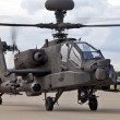 Apache Longbow on take off — Stock Photo