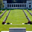 Military war cemetary - Stock Photo