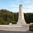 WW1 war memorial - Stock Photo