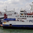 Stock Photo: Cross channel ferries