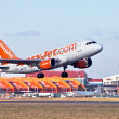Easy Jet take off — Stock Photo