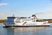 Sea France - Ex English Channel passenger ferry company — Stock Photo