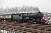 King Edward I steam train — Stock Photo