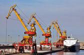 Calais Freight terminal — Stock Photo