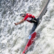 white water kayaking — Stock Photo #9849051