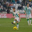 Carlos Caballero  in match league Cordoba vs Girona — Stock Photo