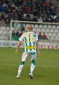 Javier Hervas in match league Cordoba vs Girona — Stock Photo