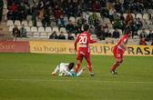 Borja Garcia in match league Cordoba vs Girona — Stock Photo