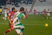 Borja García from match league Cordoba vs Girona — Foto de Stock
