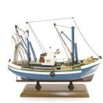 Model fishing boat — Stock Photo