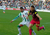 Jose Manuel Fernandez W(17) in action during match league Cordoba vs Hercules — Stock Photo