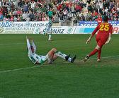 Airam Cabrera W(24) in action during match league Cordoba vs Hercules — Foto de Stock