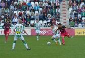 Borja Garcia W(10) in action during match league Cordoba vs Hercules — Stock Photo